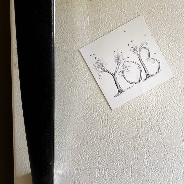 Your Other Brothers Logo Magnet