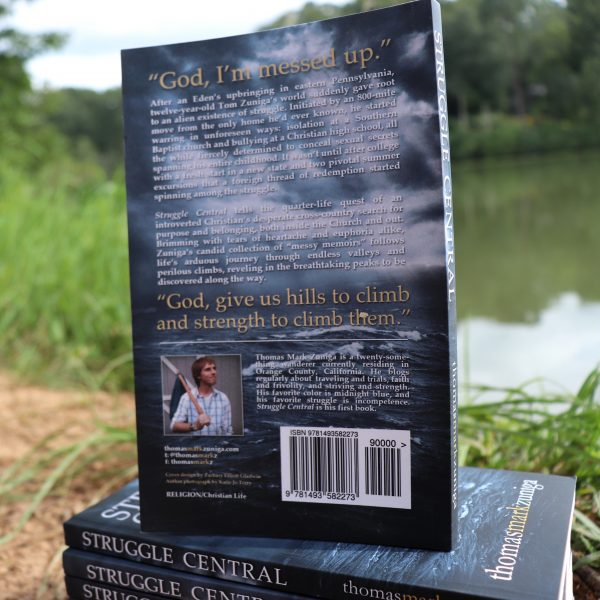 """""""Struggle Central: Quarter-Life Confessions of a Messed Up Christian"""" by Thomas Mark Zuniga"""